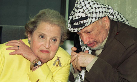Albright Arafat
