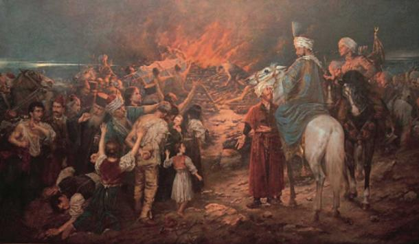 Serbian Oppression by the Ottoman Turks