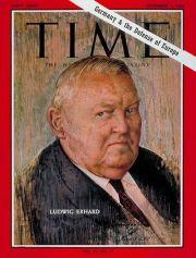 Ludwig Erhard Time Mag