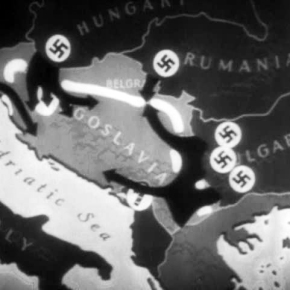 Belgrad – Belgrade – Beograd 1941 – Under German Occupation – Rare film footage [4:08]