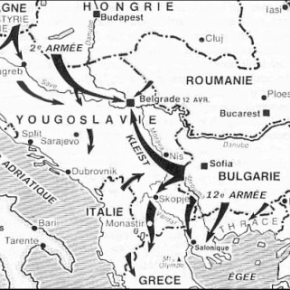 "German – led Invasion of Yugoslavia… Hitler's personal revenge against the Serbian people  –  ""Führer Directive No. 25"" (Führerbefehle)"