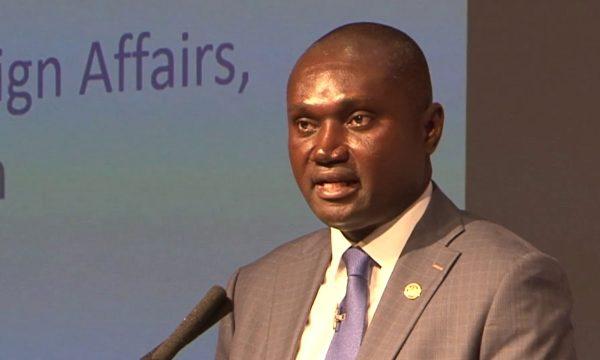 Ghana deputy FM Charled Owiredu
