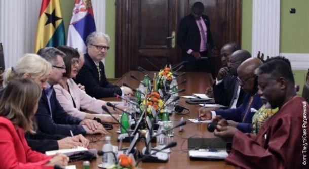 Ghana Serbia meeting