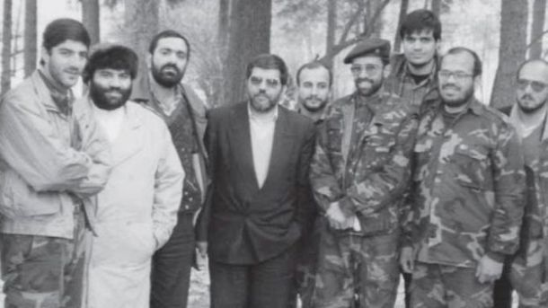 Iranian forces in Bosnia Mohammad Hossein Navab from Iranian dead at War III Bosnia from the right