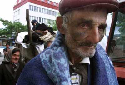 Kosovo - Serb man