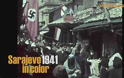 Rare film footage of SARAJEVO 1941 – Bosnia's Suppressed NaziLegacy