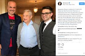 Soros and Son with Edi Rama