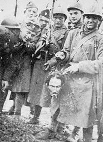 78 years since Roman Catholic priest Fr. Vjekoslav Filipovic and Lt. Josip Mislov of the Croatian Ustasha led the grisly massacre of 2500 Serbian villagers in Bosnia, INCLUDING 551 CHILDREN with AXES, KNIVES ANDPICKS
