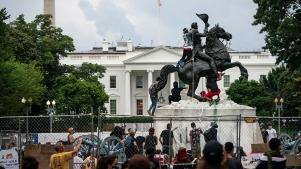 Andrew Jackson statue 2