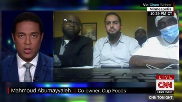 Palestinian business owner - called cops on George Floyd