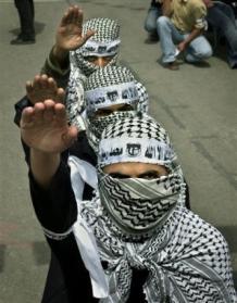 PalestinianNaziSalute