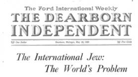 Ford Dearborn Weekly - international Jew