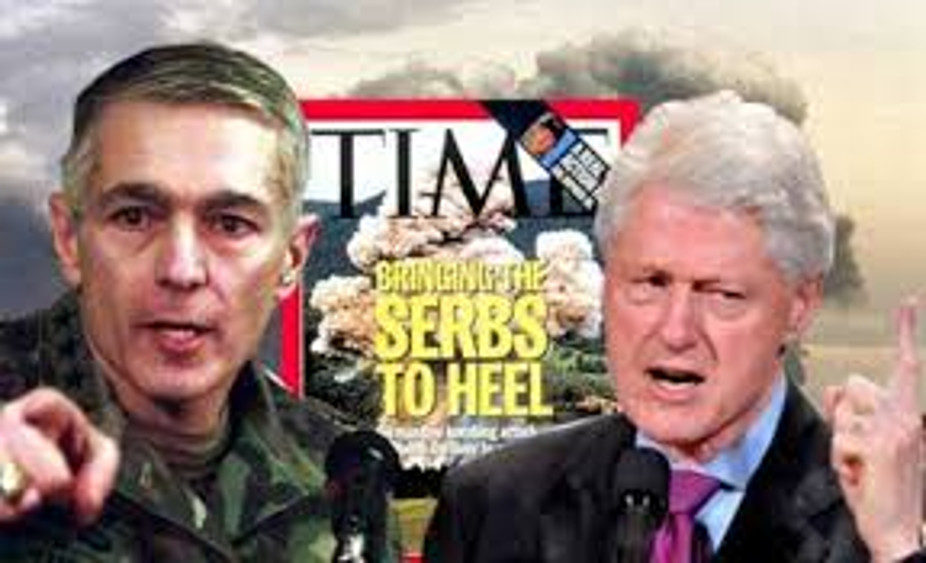 Clinton Clark Bombing Serbia