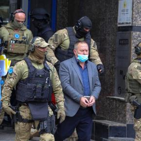 EU police arrest Albanian warlord, raid Kosovo offices of indicted war criminal after HE ILLICITLY OBTAINED prosecutor's KLA files, witnesses threatened ——— BUT WHO AT THE COURT LEAKED THE FILES?!