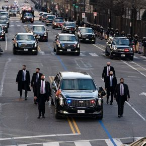 "NEW VIDEO exposes Joe Biden's ""bizarre"" ""dystopian"" fake inauguration in Washington D.C…. MUSTSEE!"