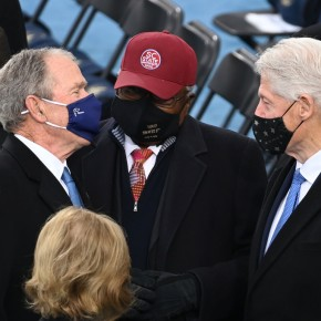 "RULING ELITES REJOICE….George W. Bush calls Democrat Rep. Clyburn ""the savior' for helping to oust Donald Trump"