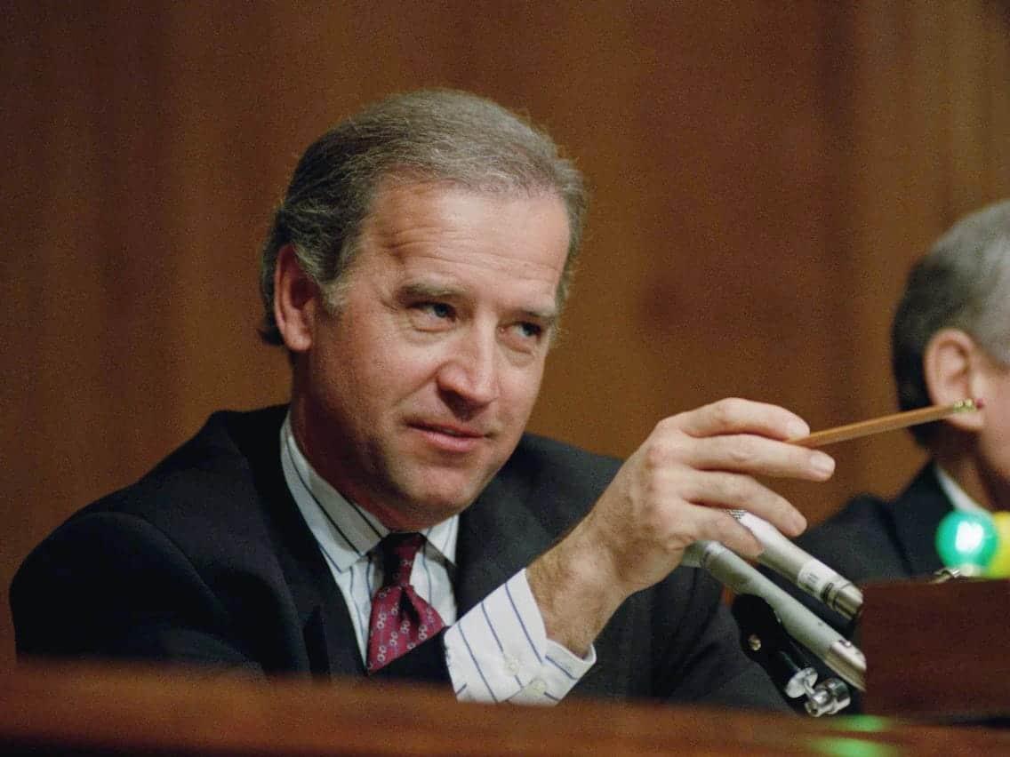 Joe Biden - before he was feeble