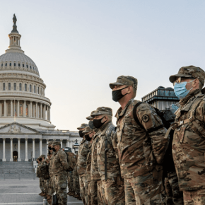 Biden's inauguration is over. Why are more troops being deployed to WashingtonD.C.?