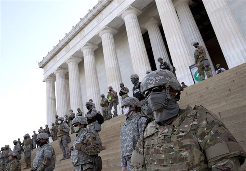 Troops in Washington - Biden's inauguration