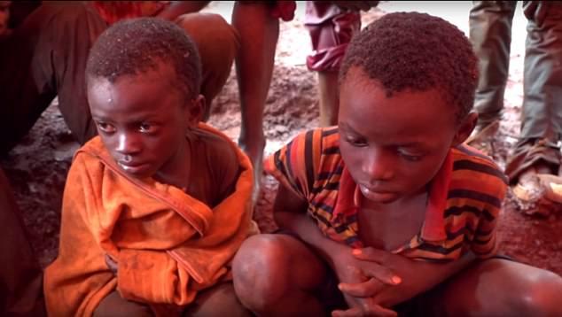 Child Slaves in Cobalt mines DRC