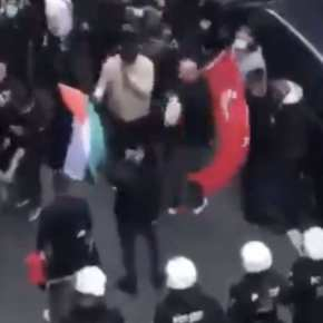 Germany – Muslim Mob Chanting 'F*cking Jews' Surrounds Synagogue, Police Watch For Hours (Video) — no masks required when threateningJews