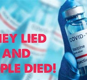 VIDEO – They Lied and PeopleDied!