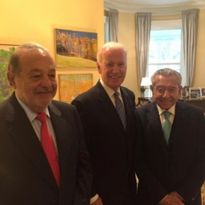 Joe Biden met with Hunter's  Mexican billionaire associates in the VP office in 2014, flew with his son to Mexico City on AIR FORCE 2 to help his drug addict, pedophilia son, Hunter, with 'flippin gigantic' deal — 'This shiznit is global,cabron.'