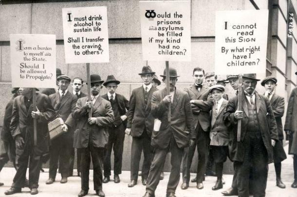 Eugenics - demonstration