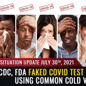 """BREAKING: CDC, FDA faked """"covid"""" testing protocol by using human cells mixed with common cold virus fragments… PCR tests are merely detecting the common cold  