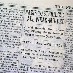 Eugenics and The Nazis – The California Connection–